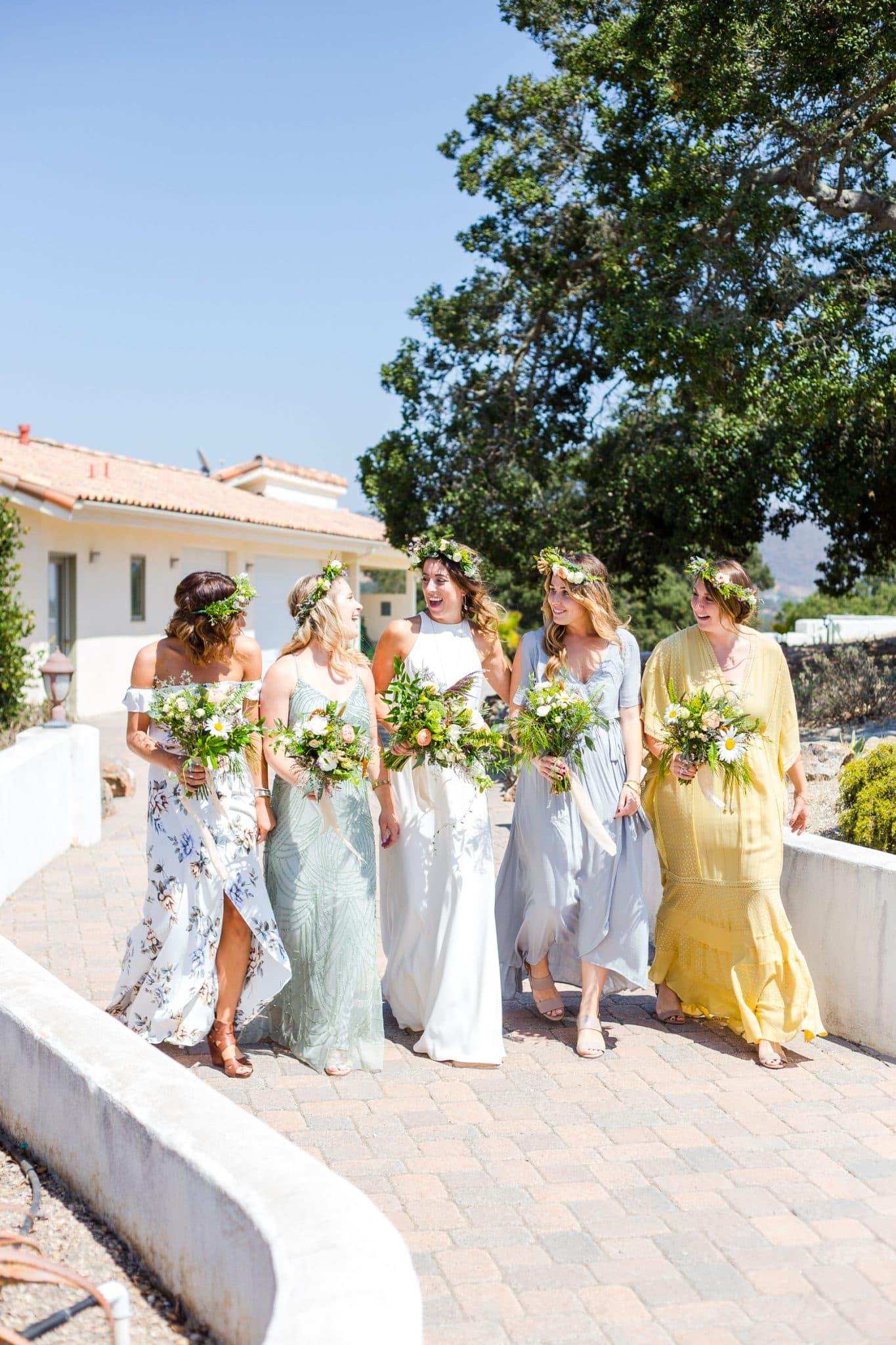 brides maids in nipomo