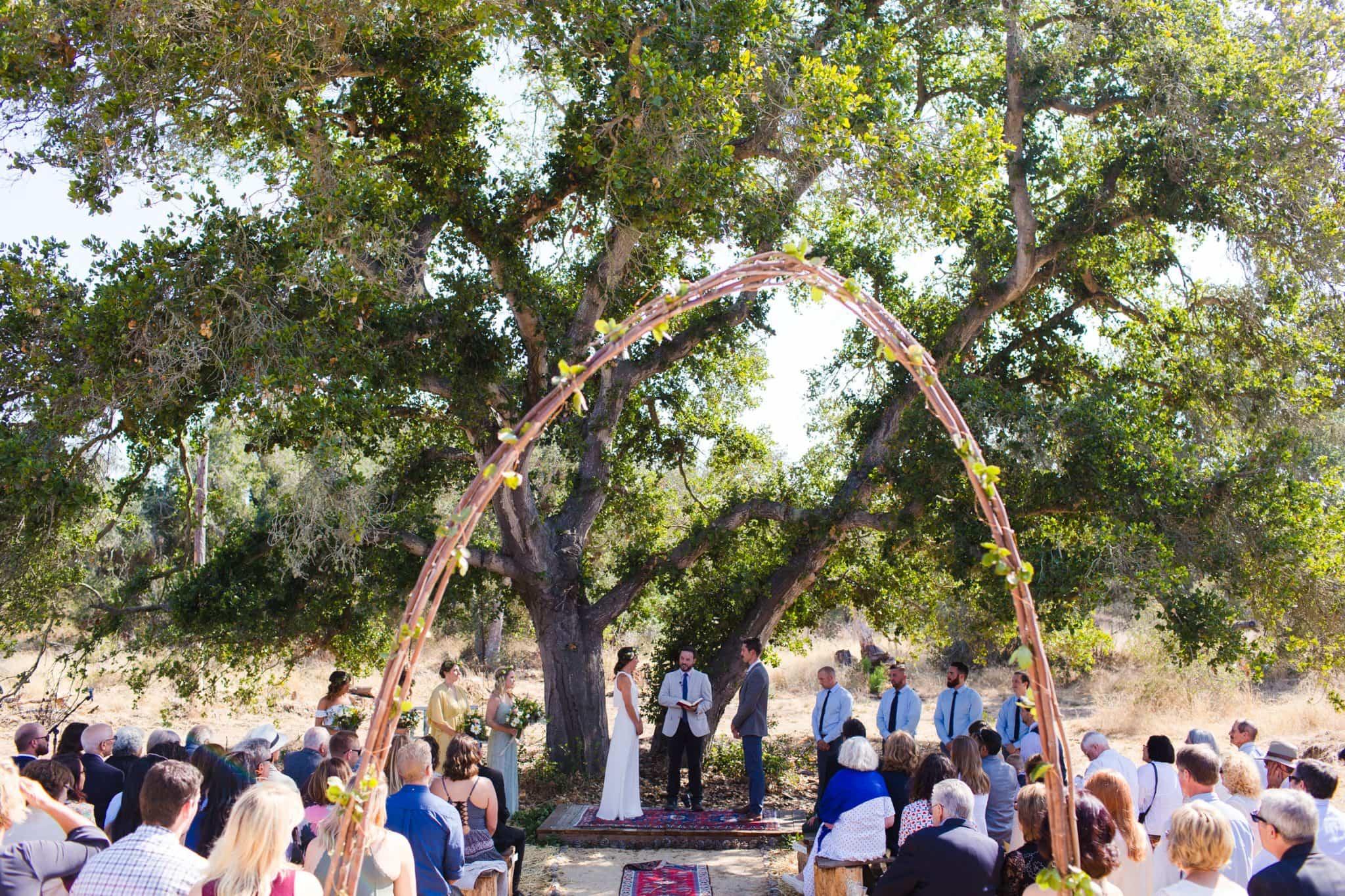 wedding ceremony nipomo