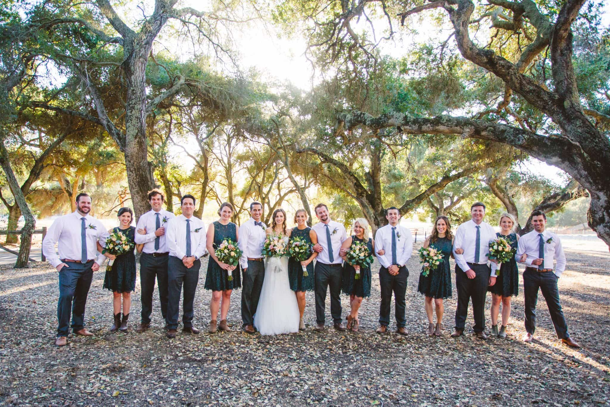 great bridal party photos