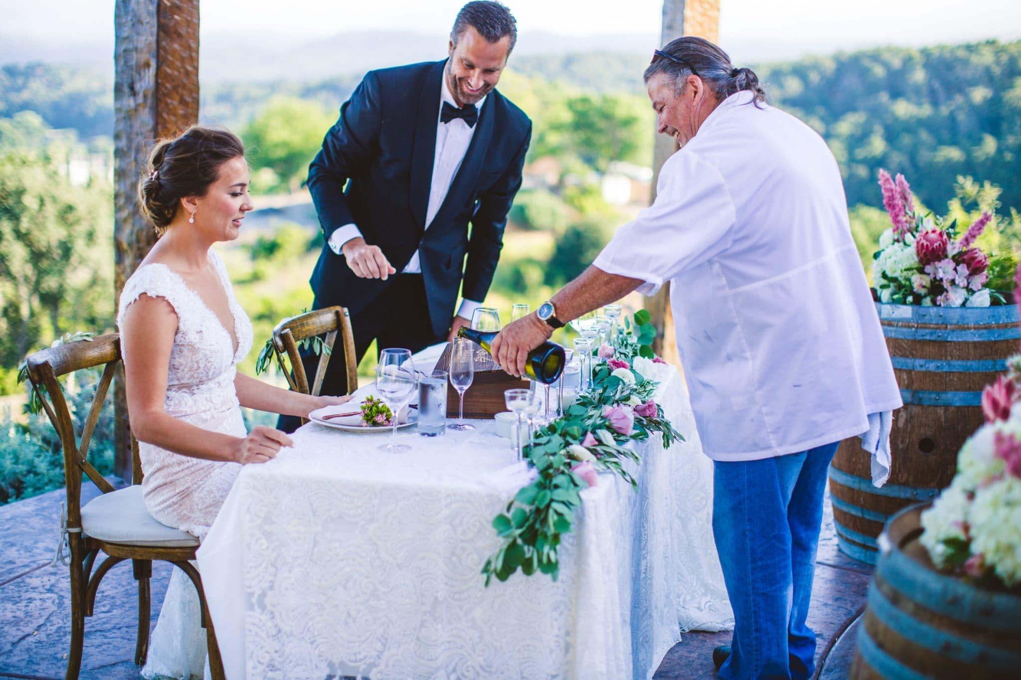 croad winery wedding photos