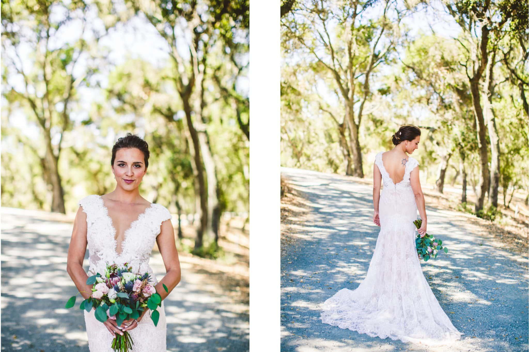 bride and Croad vineyard