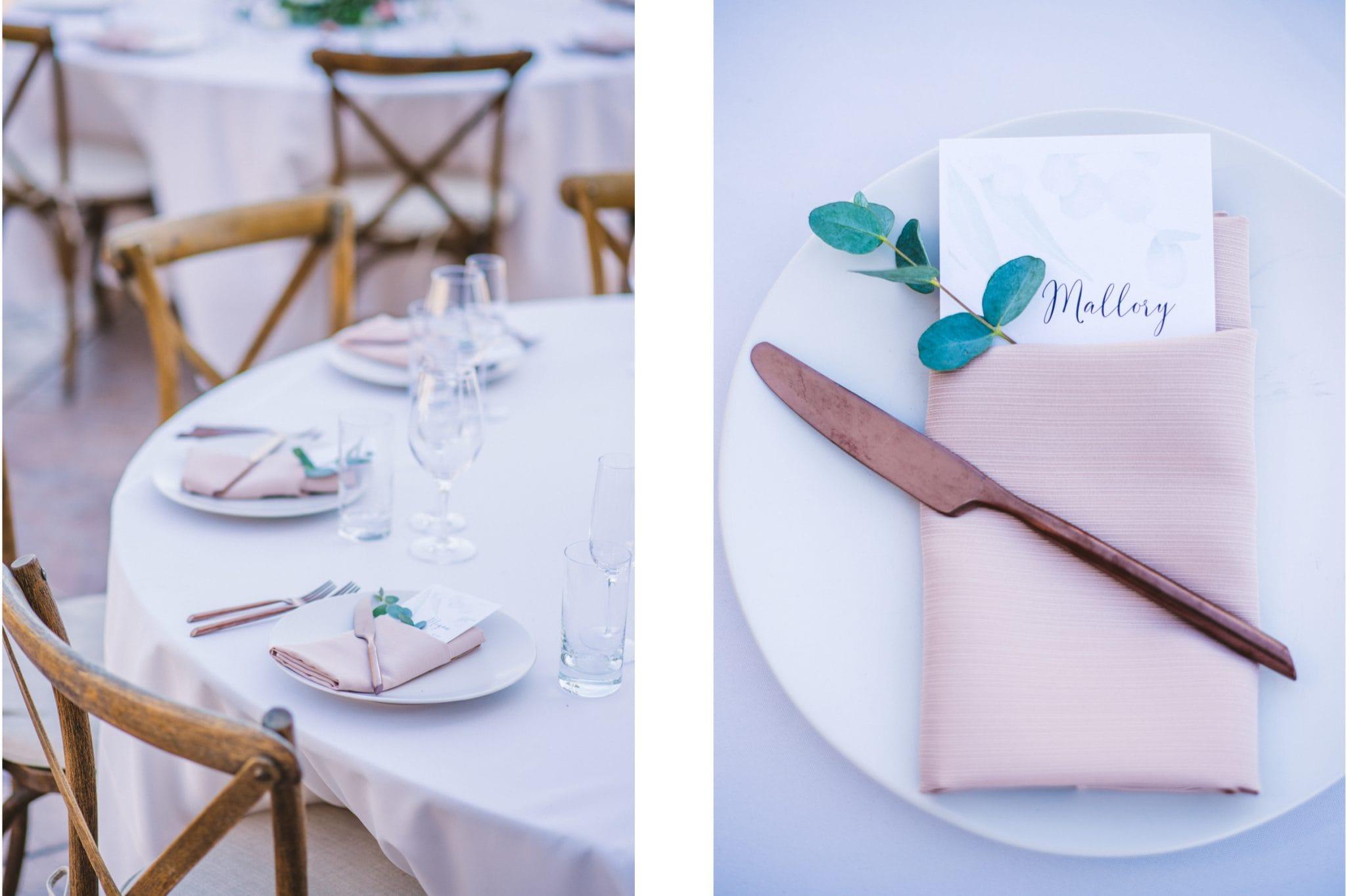 Croad Vineyard Wedding details
