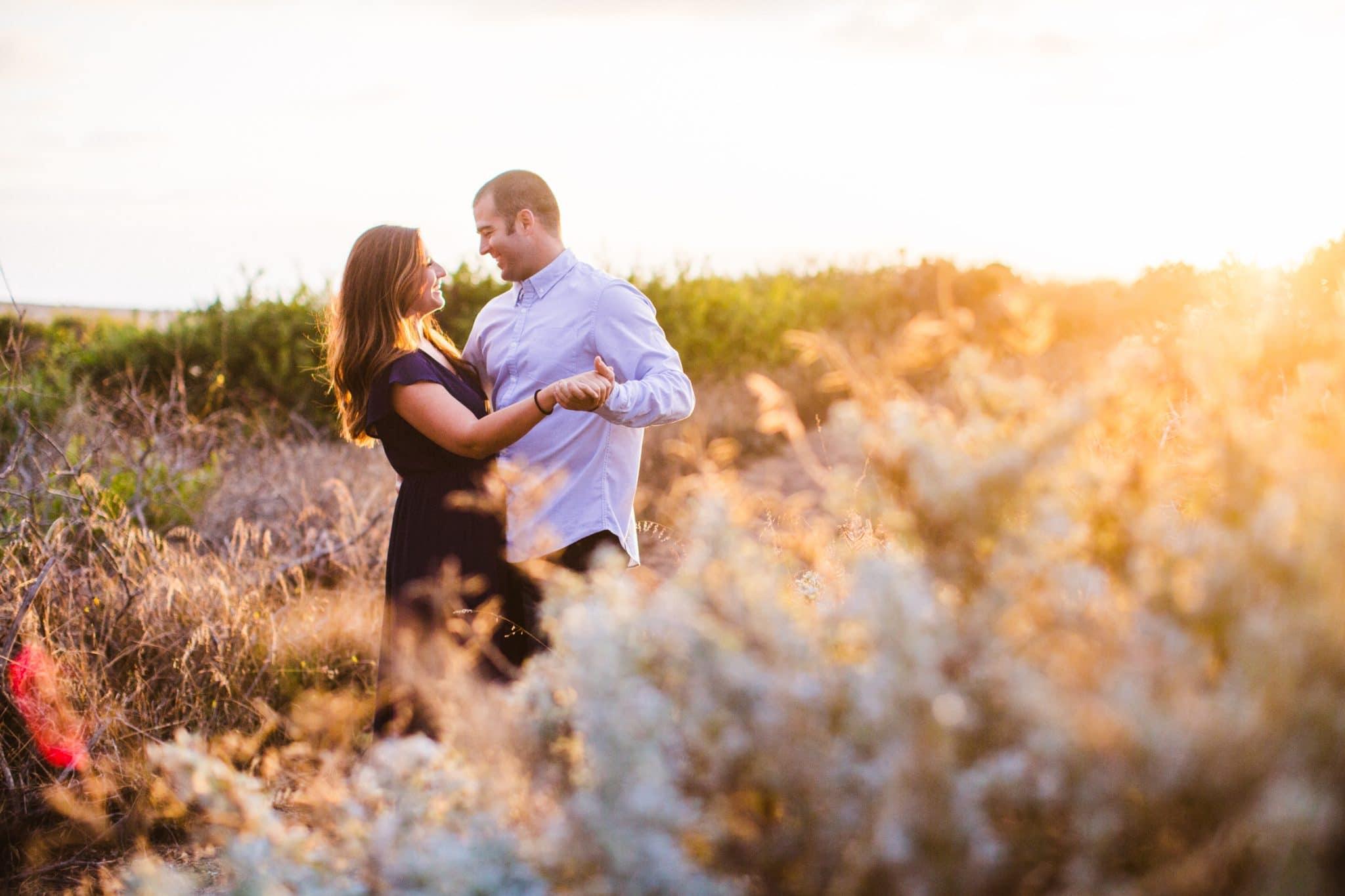Montana De Oro engagement photos