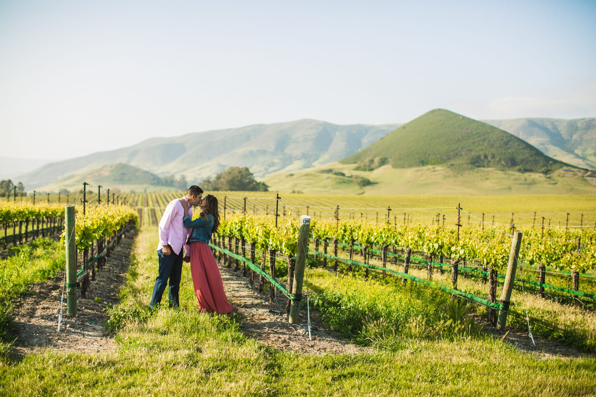 Tolosa Winery Engagement Photos