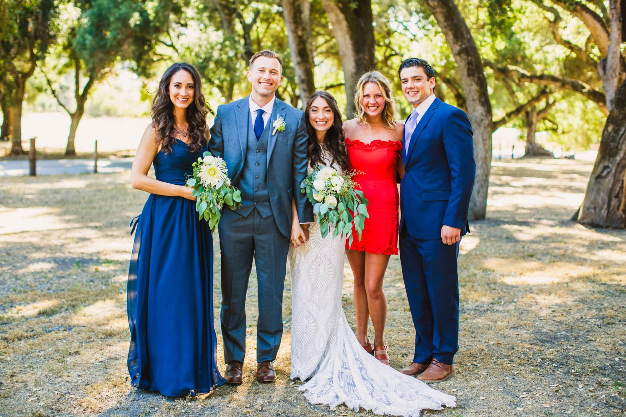 the Loomis Family Barn wedding