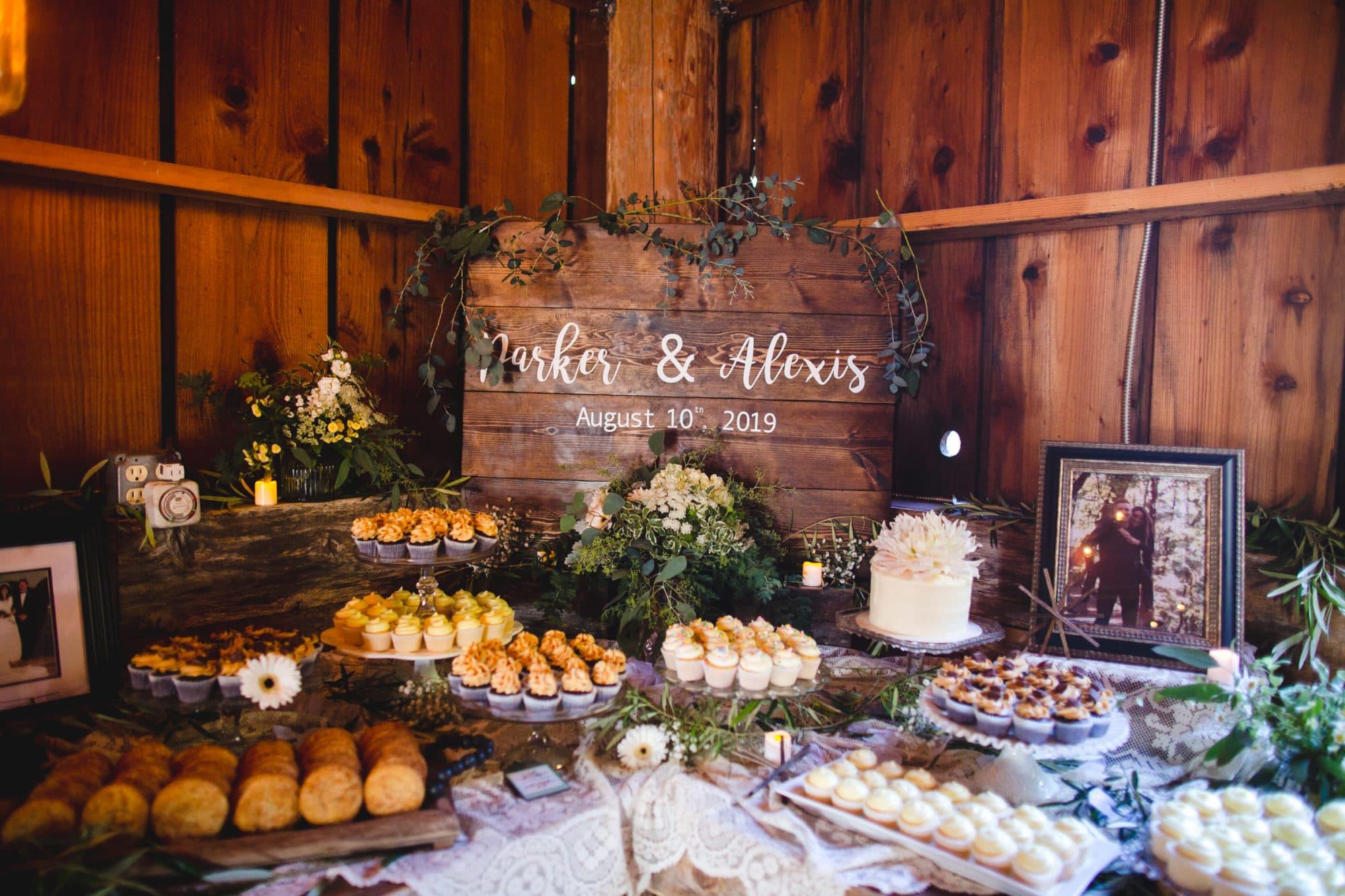 the Loomis Barn wedding