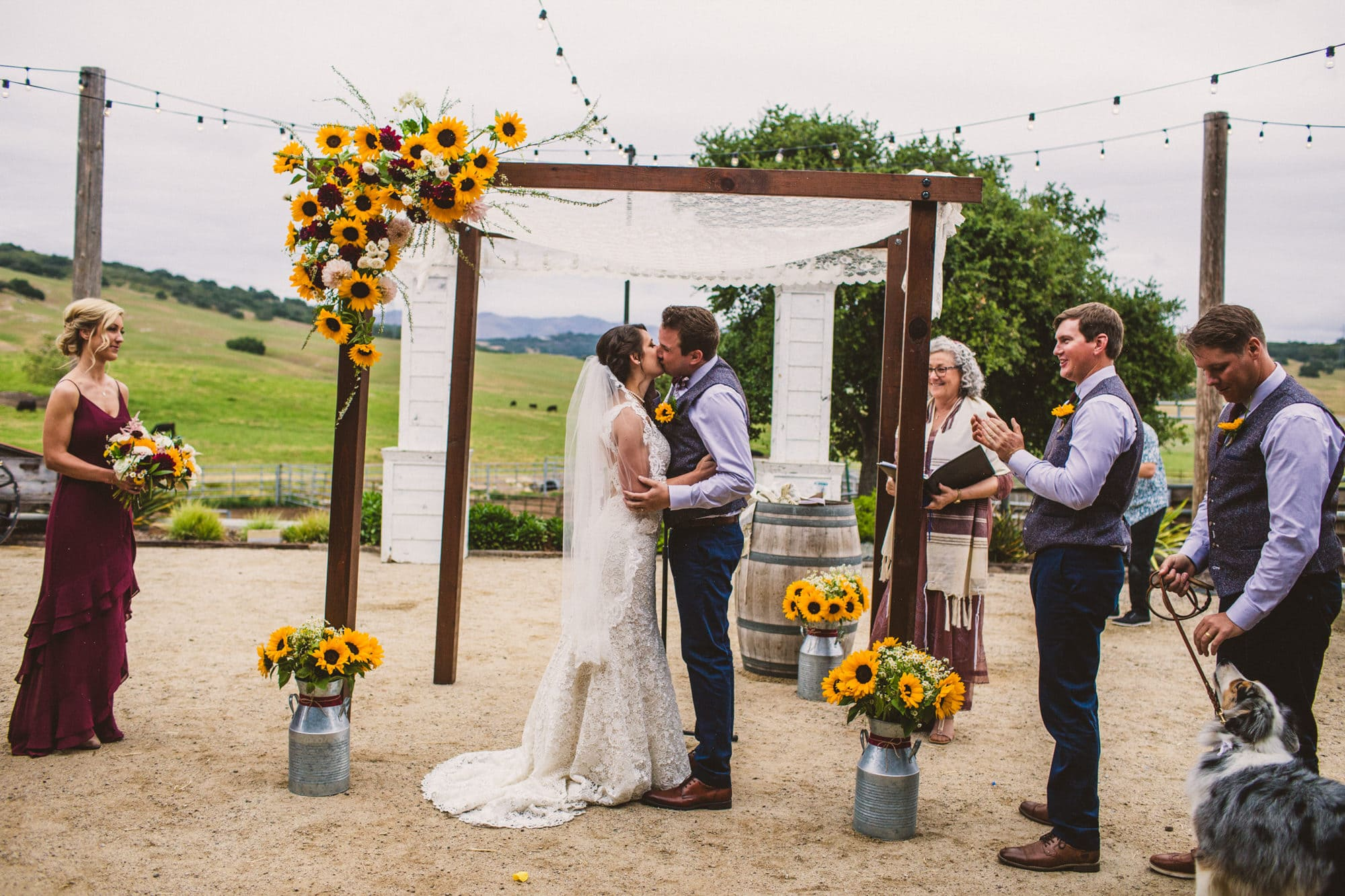 thousand hills ranch pismo beach wedding