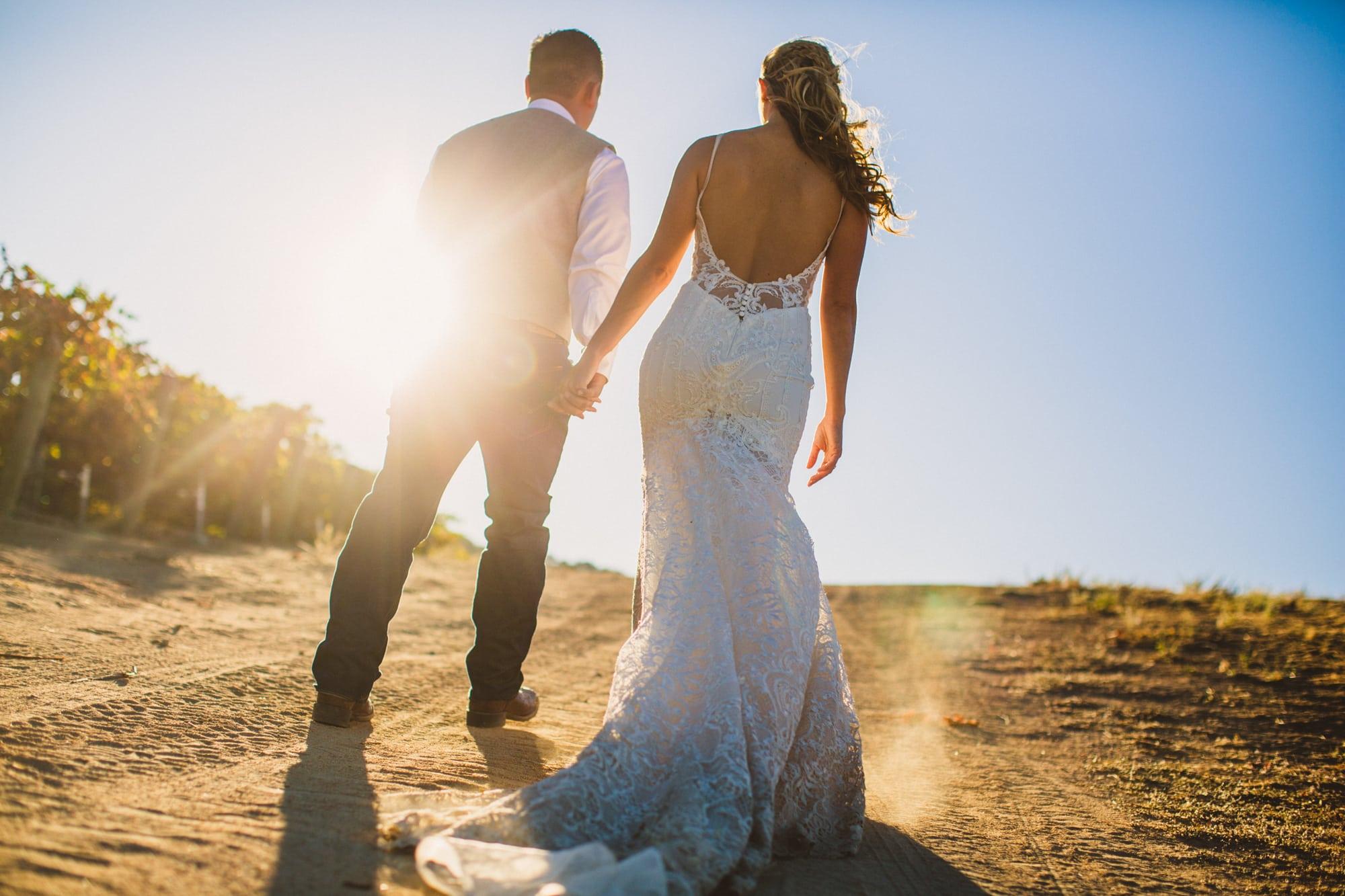 vintage ranch paso wedding