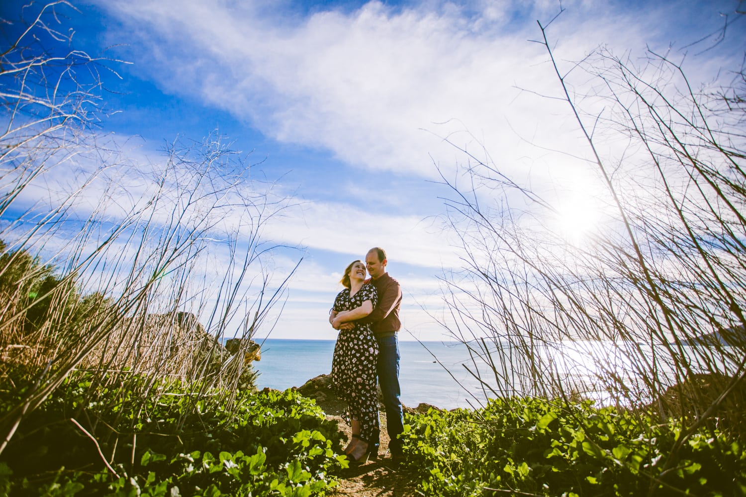 Avila Beach Engagement Photos