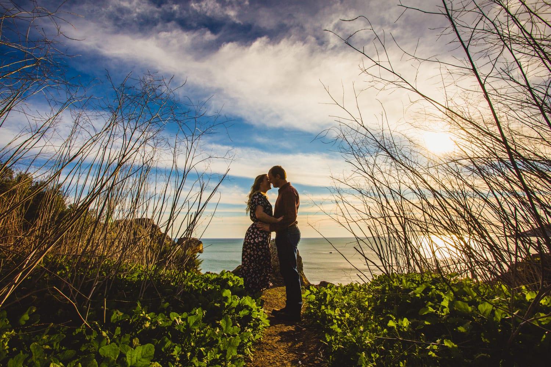 Avila Beach Engagement Photos