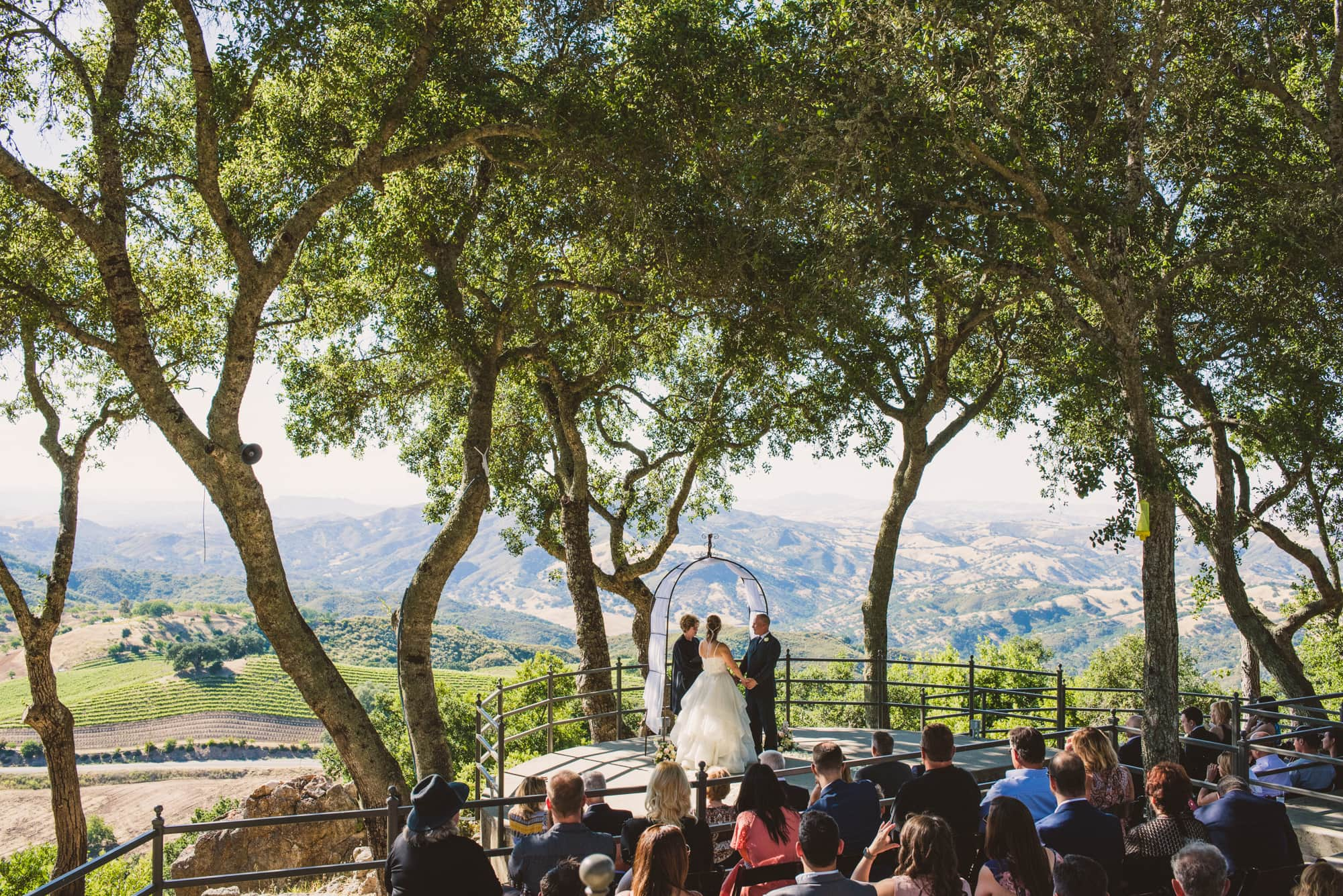 Adelaida Winery Wedding photos