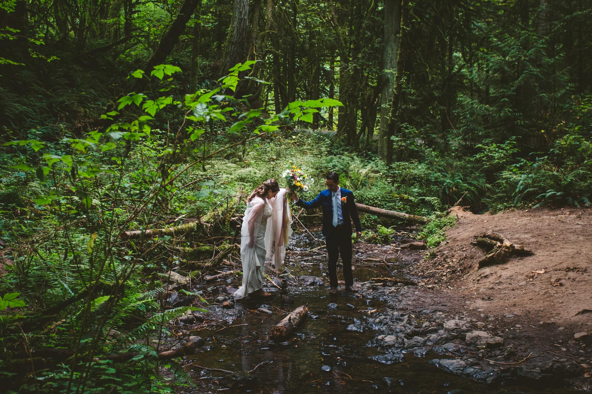 Camas Washington Elopement  Photographer